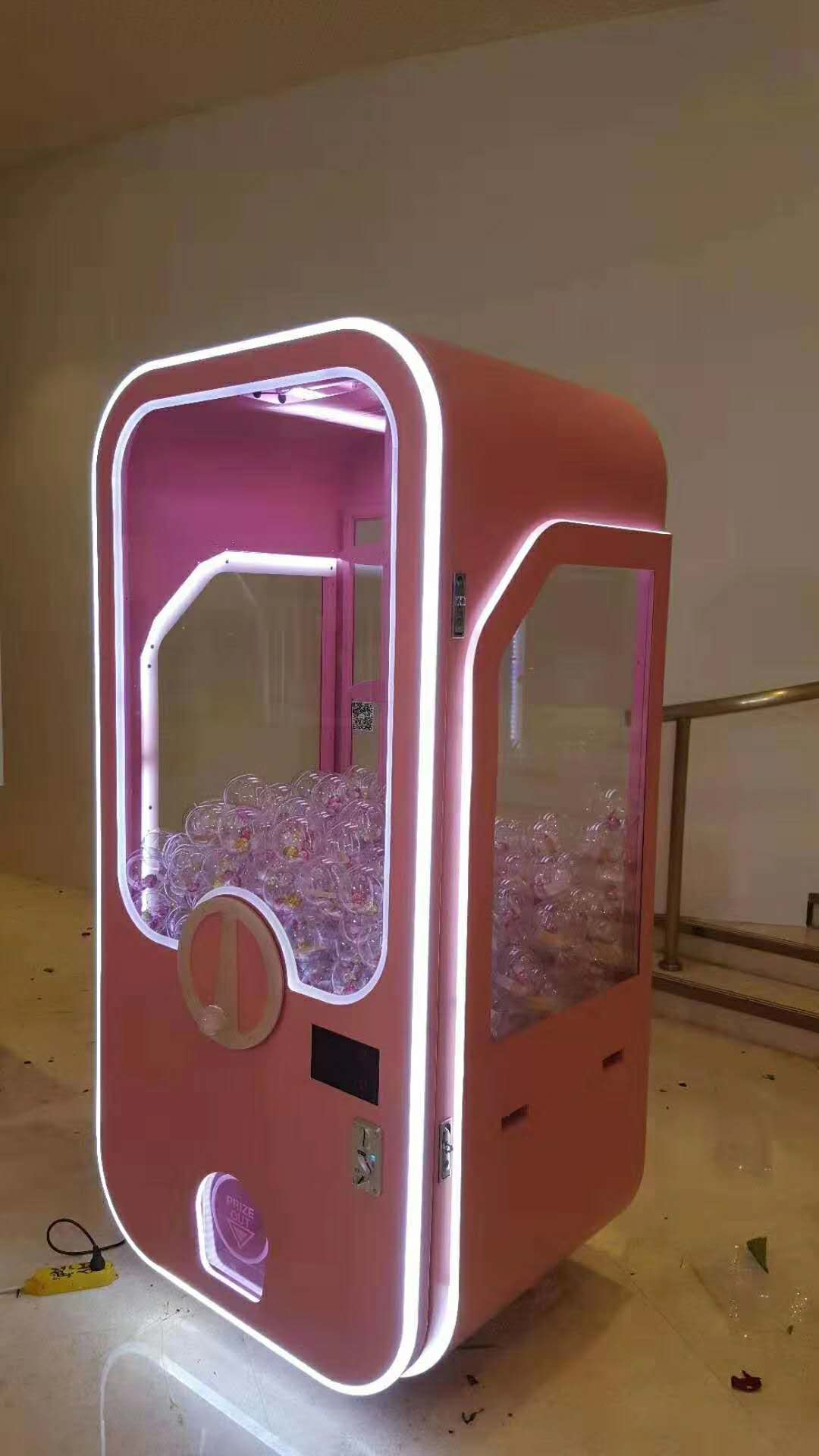 2米粉色扭蛋机出租
